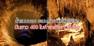 ถ้ำยาวที่สุดในโลก